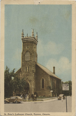 St. Peter's Lutheran Church, Preston, Ontario