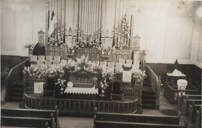 Fink Memorial Altar, St. Peter's Evangelical Lutheran Church