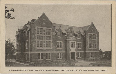 Evangelical Lutheran Seminary of Canada, Waterloo, Ontario