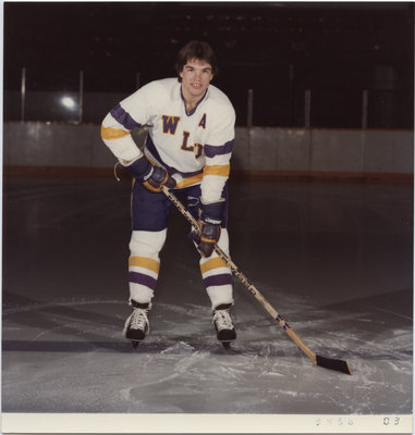 Don Poulter, Wilfrid Laurier University hockey player