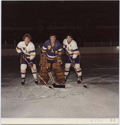 Members of the Wilfrid Laurier University men's hockey team, 1981