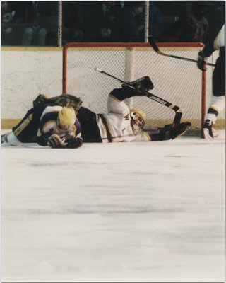 Wilfrid Laurier University men's varsity hockey game