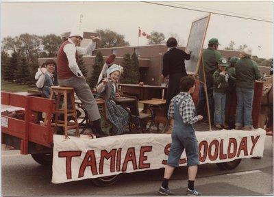 Homecoming parade float, 1979