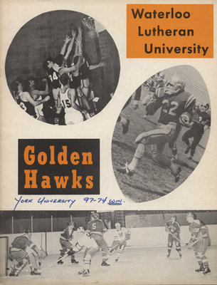Waterloo Lutheran University Golden Hawks athletics program, Nov. 26, 1970