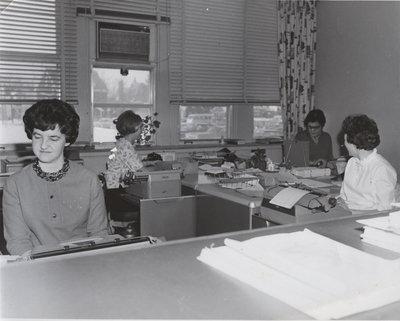 Waterloo Lutheran University staff members