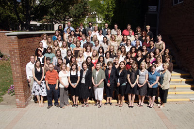 Faculty of Education staff and students, Wilfrid Laurier University, 2007