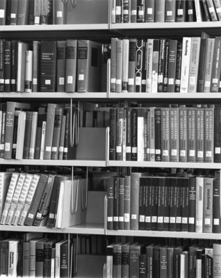 Bookstacks, Wilfrid Laurier University Library