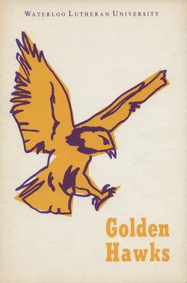 Waterloo Lutheran University Golden Hawks program, Nov. 5, 1966