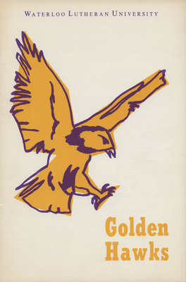 Waterloo Lutheran University Golden Hawks program, Dec. 10, 1966
