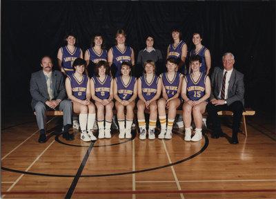 Wilfrid Laurier University women's basketball team, 1985-86