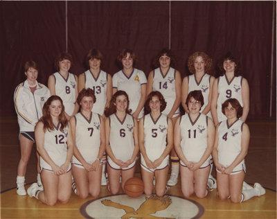 Wilfrid Laurier University women's basketball team, 1978-79