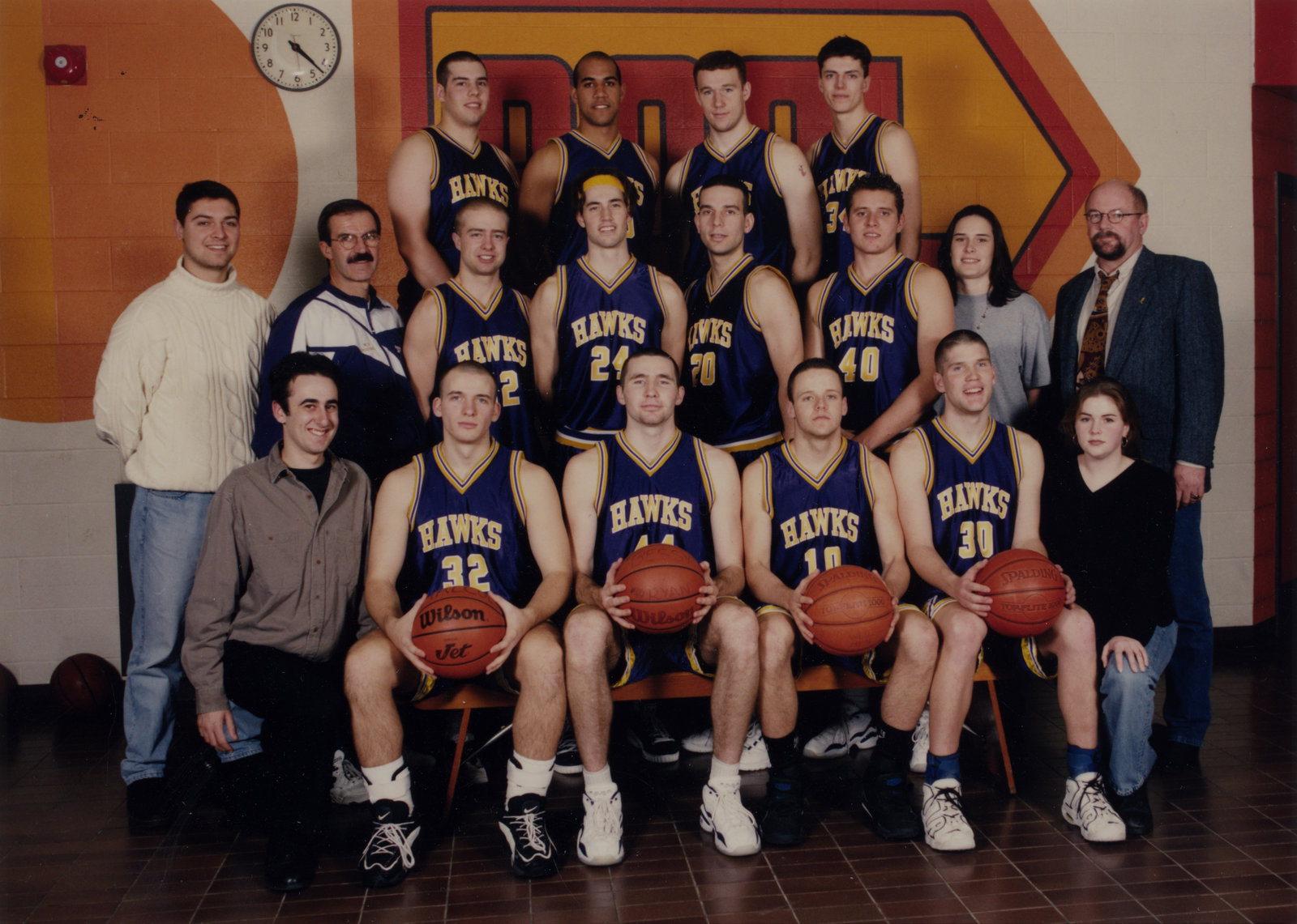 Wilfrid Laurier University men's basketball team, 1996-1997