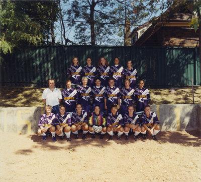 Wilfrid Laurier University Women's Soccer Team, 1998