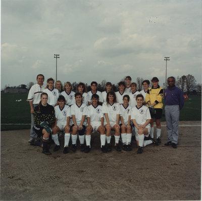 Wilfrid Laurier University women's soccer team, 1990-91