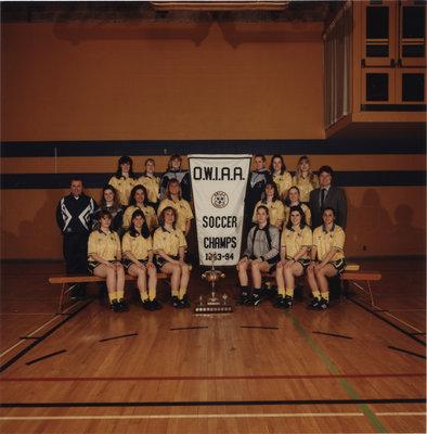 Wilfrid Laurier University women's soccer team, 1993-94