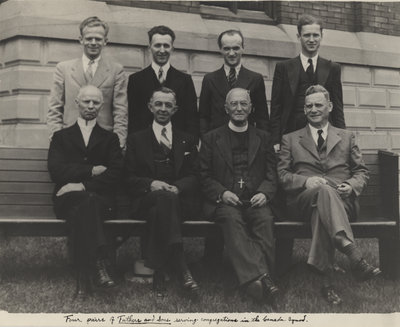Fathers and sons serving in the Canada Synod