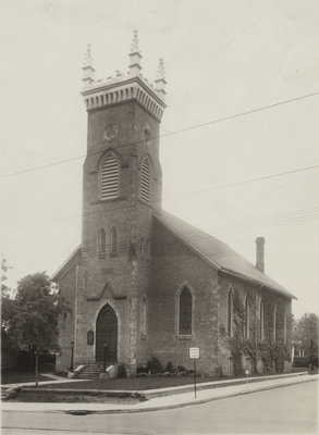 Exterior of St. Peter's Lutheran Church, Cambridge, Ontario