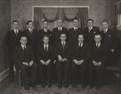Evangelical Lutheran Seminary of Canada students, 1935-36