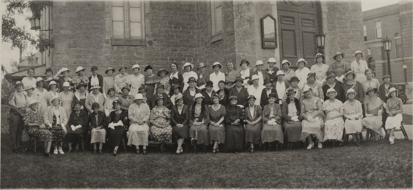 Ladies Aid Society, St. Peter's Lutheran Church, 1934