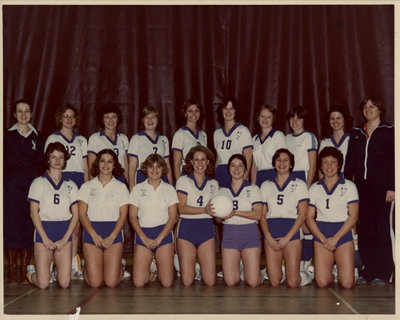 Wilfrid Laurier University women's volleyball team, 1978-1979