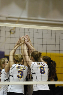 Wilfrid Laurier University women's volleyball game, 2006