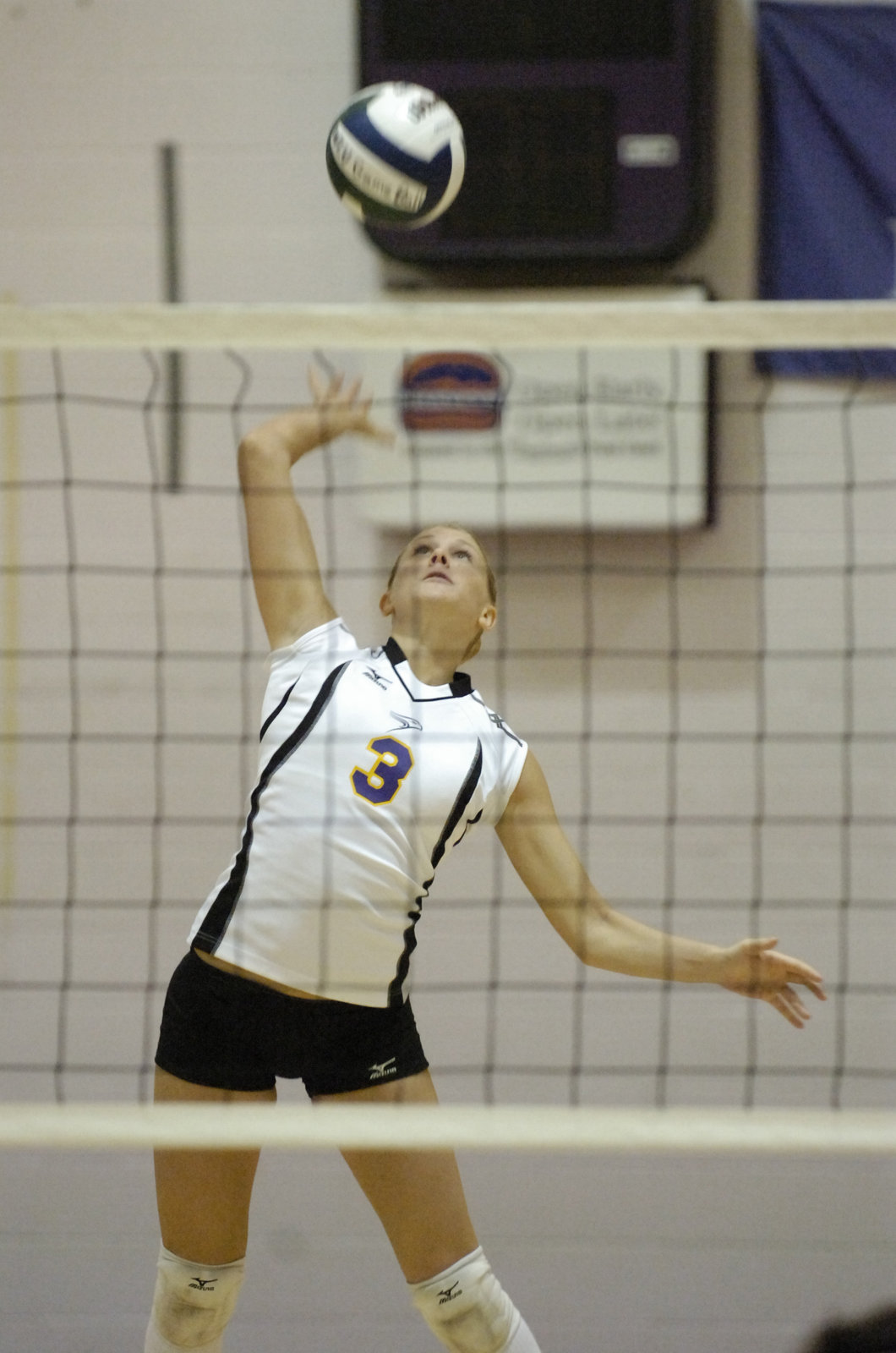 Wilfrid Laurier University women's volleyball player