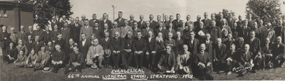 66th Annual Convention of the Evangelical Lutheran Synod of Canada, 1928