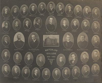 Waterloo College, 1919-1920