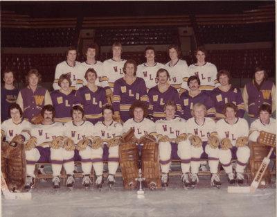 Wilfrid Laurier University men's hockey team, 1976-77