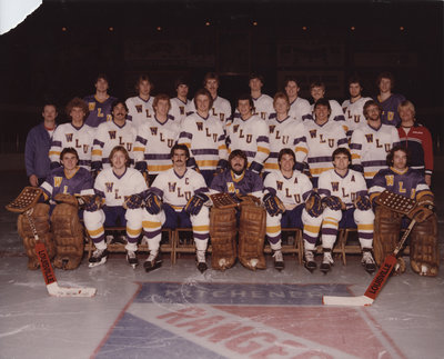 Wilfrid Laurier University men's hockey team, 1981-1982