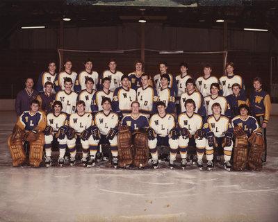 Wilfrid Laurier University men's hockey team, 1984-1985