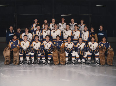Wilfrid Laurier University men's hockey team, 1985-1986