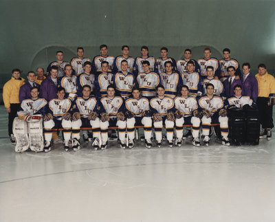 Wilfrid Laurier University men's hockey team, 1991-92