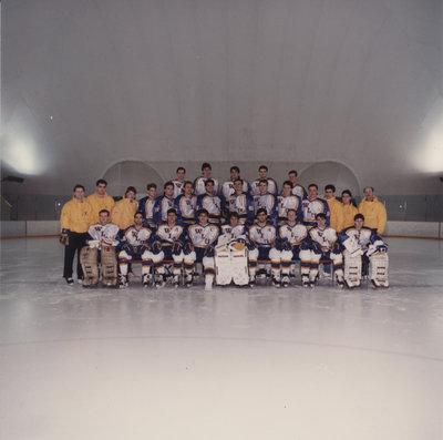 Wilfrid Laurier University men's hockey team, 1990-91