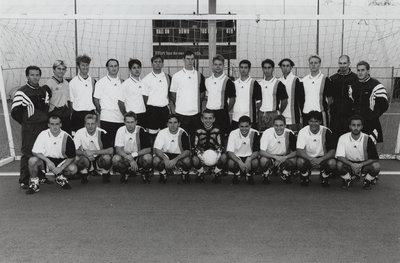 Wilfrid Laurier University men's soccer team, 1996-1997