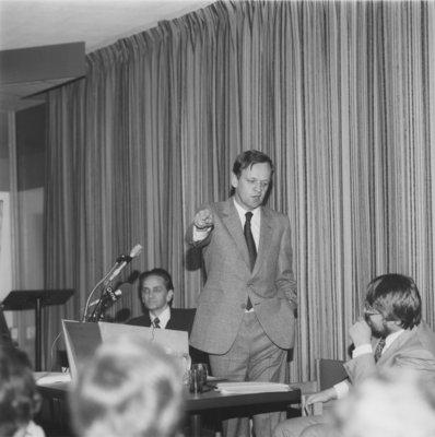 Jean Chrétien speaks at Wilfrid Laurier University