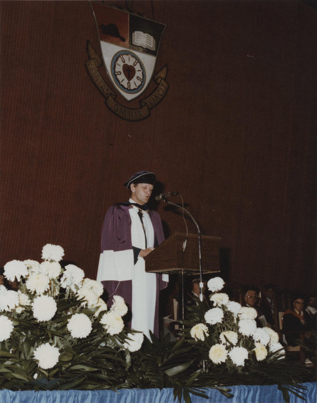 Jean Chrétien convocation address