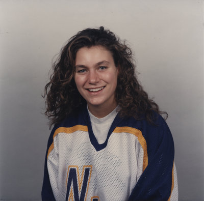 Cheryl Pounder, Wilfrid Laurier University hockey player