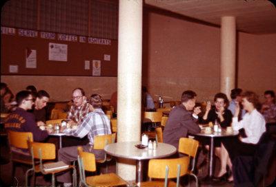 Students in the Torque Room, Waterloo Lutheran University