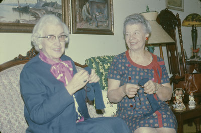 Louise Doerr and Ruth Gillespie