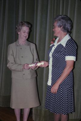 Mrs. Robert Sippel and Marie Ireland