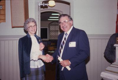 Dorothy Schaefer and Delton Glebe