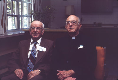 Edgar Fischer and Siegfried Wittig, 1986