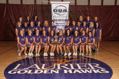 Wilfrid Laurier University women's lacrosse team, 2006
