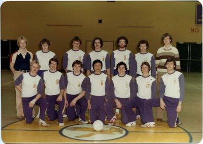 Wilfrid Laurier University men's volleyball team, 1979-80