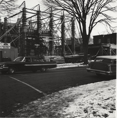 Construction of Evangelical Lutheran Church of the Redeemer, Montreal, Quebec