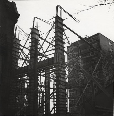 Construction of the Evangelical Lutheran Church of the Redeemer, Montreal, Quebec