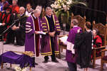 Lloyd Axworthy receiving honorary degree, Wilfrid Laurier University spring convocation 2008