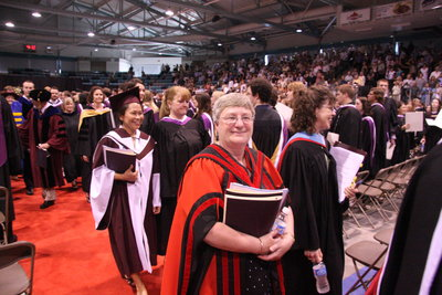 Joyce Lorimer, Wilfrid Laurier University spring convocation 2008