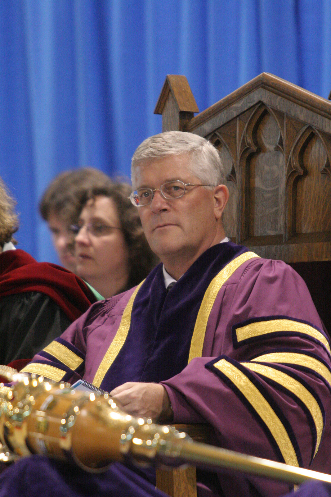 Max Blouw, Wilfrid Laurier University fall convocation 2007